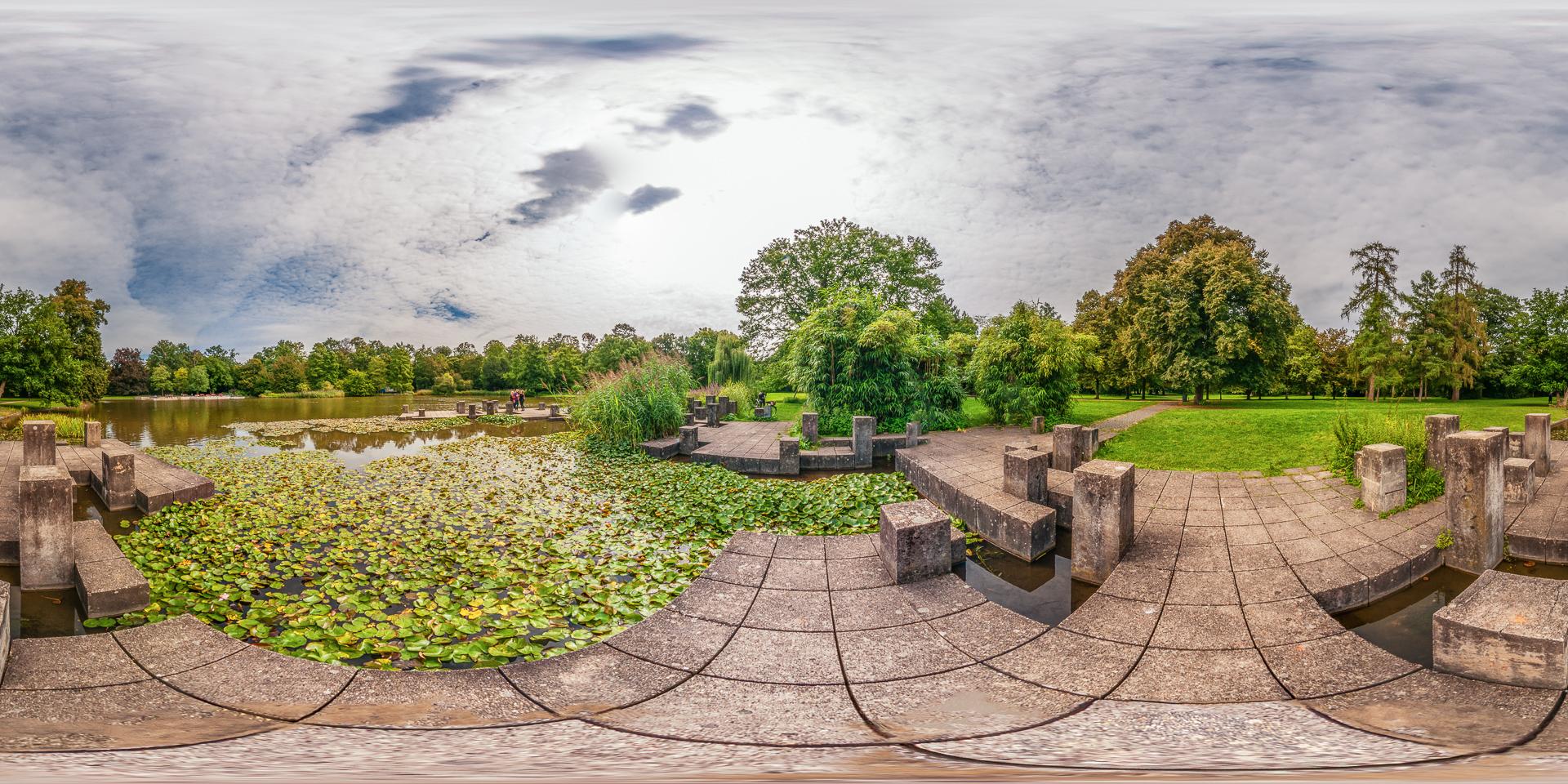 Botanischer-Garten-Karlsruhe-Teich