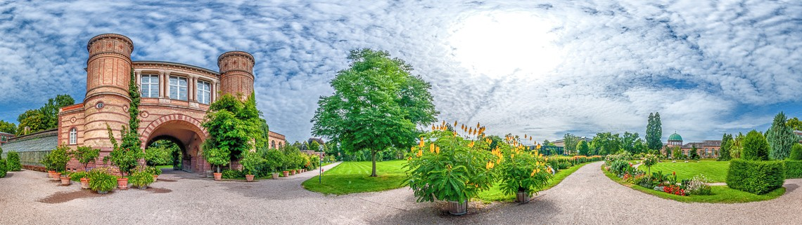 Jardin botanico Karlsruhe