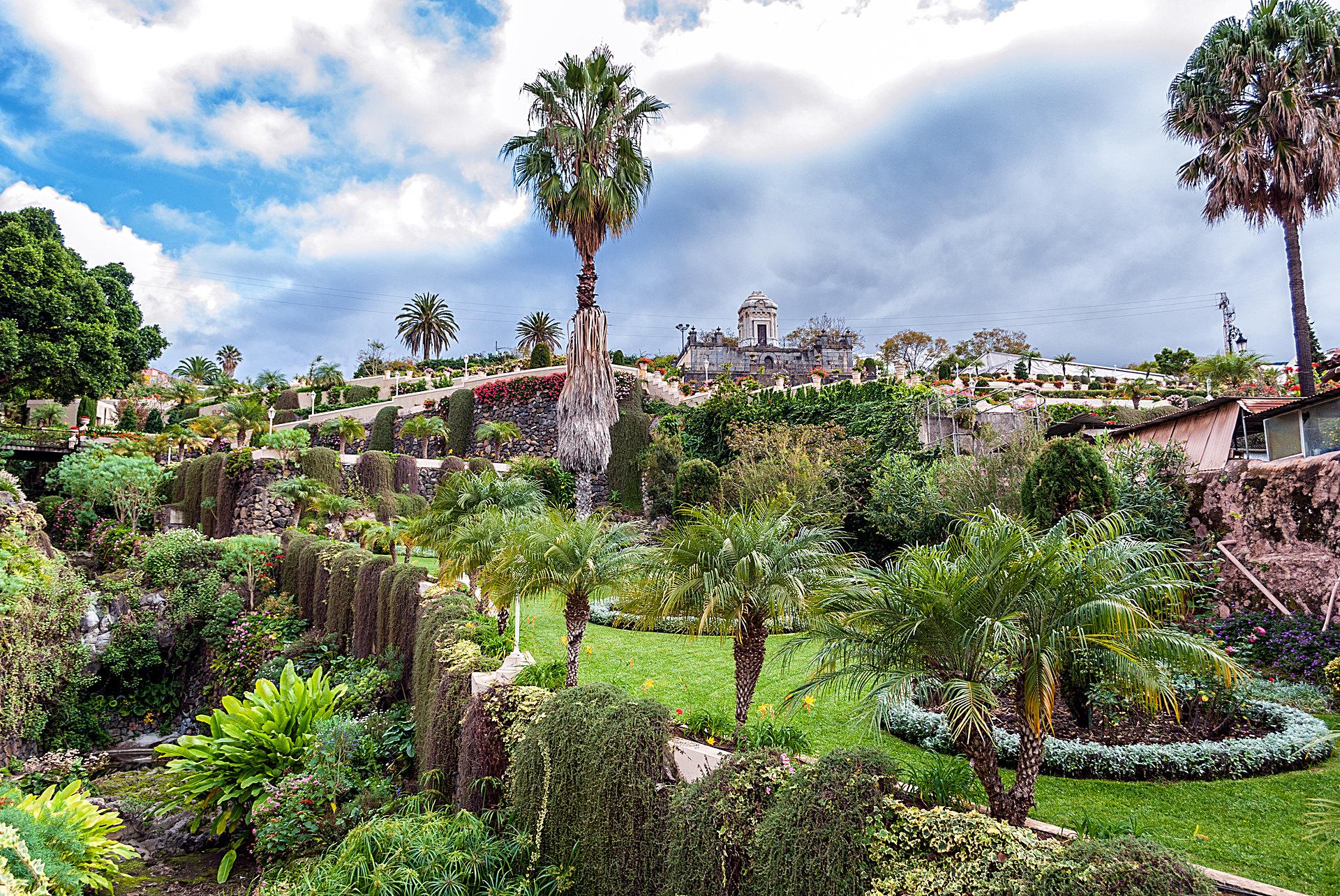Jardines botánicos de las Islas Canarias