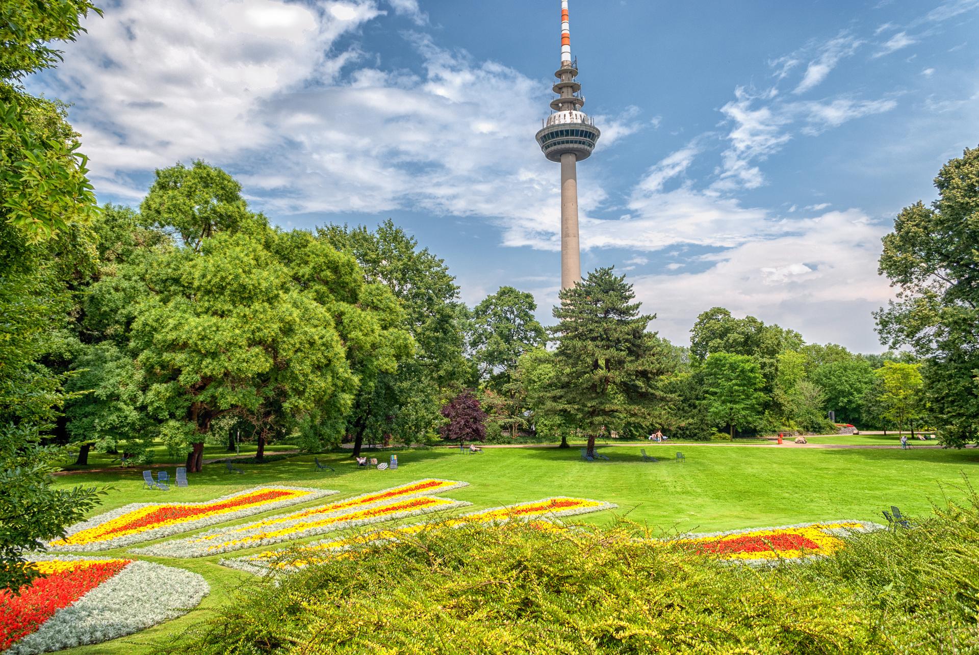 Luisenpark Mannheim, Alemania